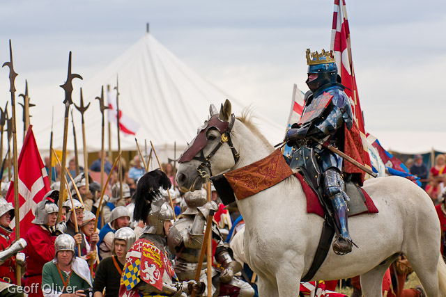 Battle of bosworth re enactment august 2011 geoff oliver s