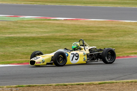 Callum McLeod won the Formula Ford race in his Merlin Mk20