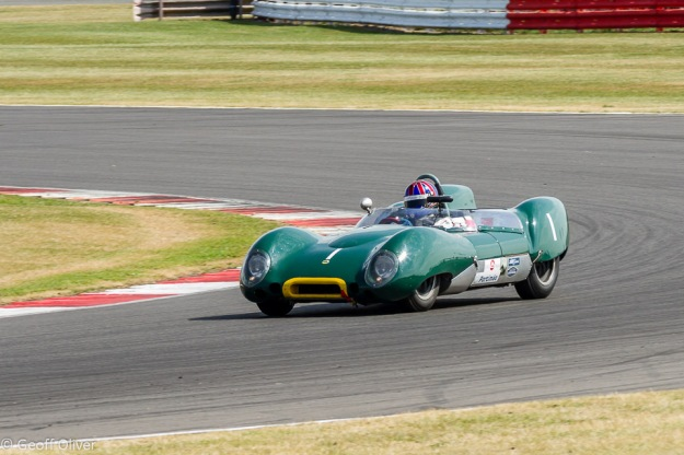 Oliver Bryant won the Stirling Moss Trophy race for Pre-'61 Sports Cars