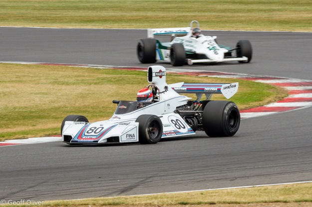Sorry I could not resist this one - the beautiful Brabham BT42/44 at Luffield with Manfredo Rossi Di Montelera at the wheel