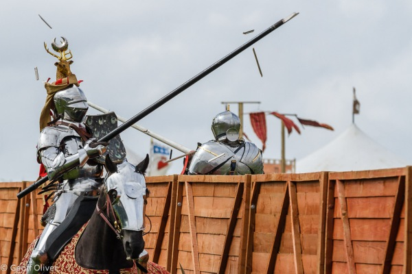 Jousting Tournament - Bosworth Battlefield Anniversary Re-enactment 2013