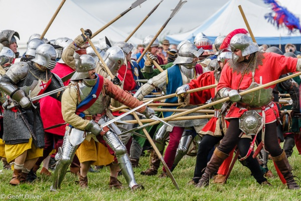 Bosworth Battlefield Anniversary Re-enactment 2013