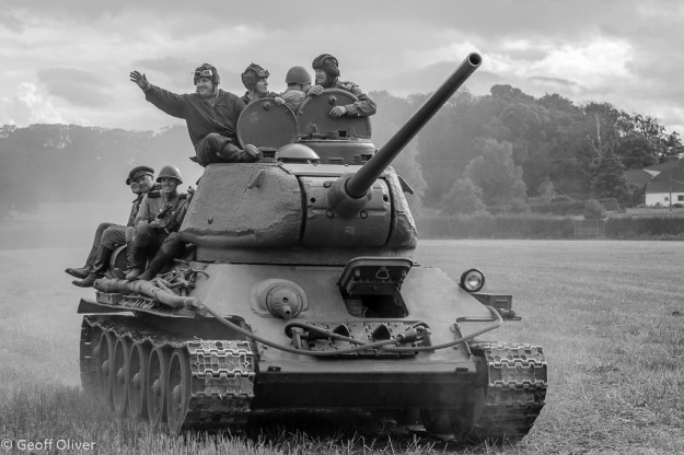 Soviet T34/85 MBT, The Victory Show 2013