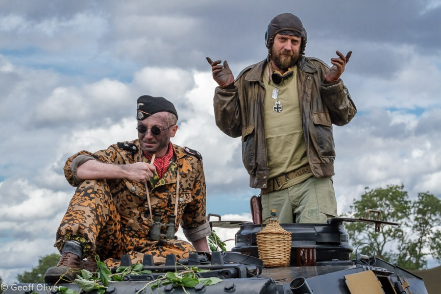 A couple of familiar characters perhaps?, The Victory Show 2013