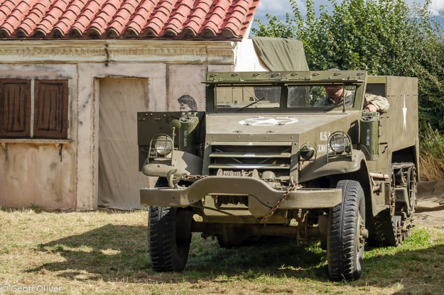 American M3 Half-Track, part of the Italian front scenario, The Victory Show 2013