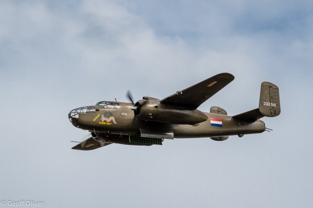 North American B-25 Mitchell Bomber, The Victory Show 2013