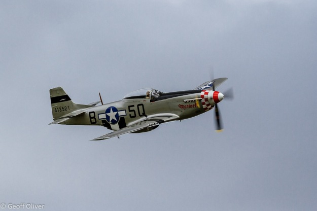 American P51 Mustang, The Victory Show 2013